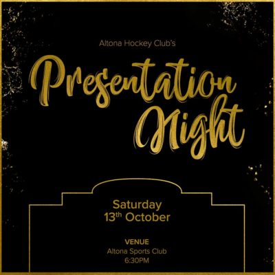 AHC 2018 Senior Presentation Night