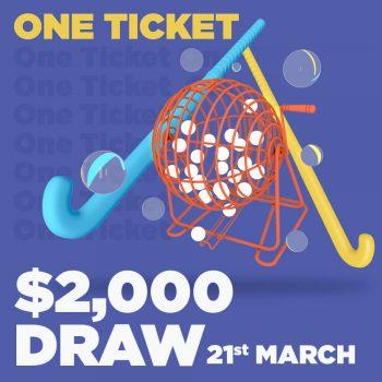 Altona Hockey Club $2k Draw Ticket